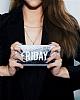 Samsung Galaxy J7 Pro 2017 Kişiye Özel Simli Sulu Mor Rubber Kılıf - Resim 5