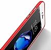 Samsung Galaxy J7 Pro 2017 Metal Kamera Korumalı Kırmızı Silikon Kılıf - Resim 2