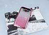 Samsung Galaxy J7 Simli Parlak Pembe Silikon Kılıf - Resim 1