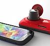 Samsung Galaxy K zoom Orjinal Auto Pop Ultra Koruma Kırmızı Kılıf - Resim 1