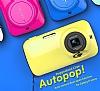 Samsung Galaxy K zoom Orjinal Auto Pop Ultra Koruma Kırmızı Kılıf - Resim 7