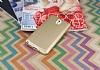Samsung Galaxy Note 3 Mat Gold Silikon Kılıf - Resim 1