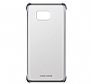 Samsung Galaxy Note 5 Orjinal Metalik Dark Blue Kenarlı Kristal Kılıf - Resim 2