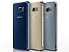 Samsung Galaxy Note 5 Orjinal Metalik Dark Blue Kenarlı Kristal Kılıf - Resim 6
