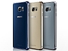 Samsung Galaxy Note 5 Orjinal Metalik Gold Kenarlı Kristal Kılıf - Resim 4