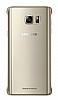 Samsung Galaxy Note 5 Orjinal Metalik Gold Kenarlı Kristal Kılıf - Resim 2