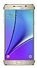 Samsung Galaxy Note 5 Orjinal Metalik Gold Kenarlı Kristal Kılıf - Resim 3