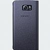 Samsung Galaxy Note 5 Orjinal Pencereli View Cover Siyah Kılıf - Resim 1