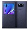 Samsung Galaxy Note 5 Orjinal Pencereli View Cover Siyah Kılıf - Resim 3