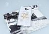 Samsung Galaxy Note 5 Taşlı Baykuş Şeffaf Silikon Kılıf - Resim 2