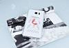 Samsung Galaxy Note 5 Taşlı Flamingo Şeffaf Silikon Kılıf - Resim 2
