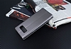 Samsung Galaxy Note 8 Curve Manyetik Kapaklı Siyah Deri Kılıf - Resim 4