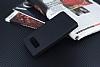 Samsung Galaxy Note 8 Gizli Mıknatıslı Çift Pencereli Siyah Deri Kılıf - Resim 2