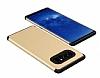 Samsung Galaxy Note 8 Metal Tuşlu Ultra Koruma Gold Kılıf - Resim 1