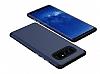 Samsung Galaxy Note 8 Metal Tuşlu Ultra Koruma Lacivert Kılıf - Resim 1