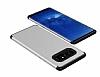 Samsung Galaxy Note 8 Metal Tuşlu Ultra Koruma Silver Kılıf - Resim 1