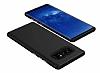 Samsung Galaxy Note 8 Metal Tuşlu Ultra Koruma Siyah Kılıf - Resim 1