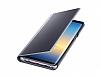 Samsung Galaxy Note 8 Orjinal Clear View Uyku Modlu Mor Kılıf - Resim 6