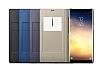 Samsung Galaxy Note 8 Orjinal Led View Cover Lacivert Kılıf - Resim 6