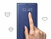 Samsung Galaxy Note 8 Orjinal Led View Cover Lacivert Kılıf - Resim 4