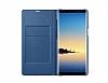 Samsung Galaxy Note 8 Orjinal Led View Cover Lacivert Kılıf - Resim 3