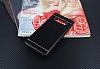 Samsung Galaxy Note 8 Silikon Kenarlı Metal Siyah Kılıf - Resim 2