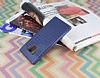 Samsung Galaxy Note 9 Delikli Lacivert Silikon Kılıf - Resim 1