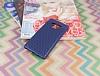 Samsung Galaxy Note 9 Delikli Lacivert Silikon Kılıf - Resim 2