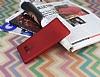 Samsung Galaxy Note 9 Mat Kırmızı Silikon Kılıf - Resim 1