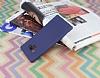 Samsung Galaxy Note 9 Mat Lacivert Silikon Kılıf - Resim 1
