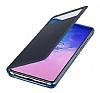 Samsung Galaxy S10 Lite Orjinal Pencereli S View Cover Siyah Kılıf - Resim 3