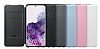 Samsung Galaxy S20 Orjinal Led View Cover Siyah Kılıf - Resim 5