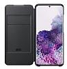 Samsung Galaxy S20 Orjinal Led View Cover Siyah Kılıf - Resim 4