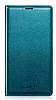 Samsung i9600 Galaxy S5 Orjinal Flip Wallet Ye�il K�l�f
