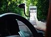 Samsung Galaxy S6 Edge Plus Baseus Siyah Araç Tutucu - Resim 3