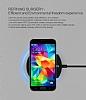 Nillkin Magic Disk II Samsung Galaxy S6 Edge Plus Beyaz Kablosuz Şarj Cihazı - Resim 5