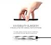Nillkin Magic Disk II Samsung Galaxy S6 Edge Plus Beyaz Kablosuz Şarj Cihazı - Resim 4