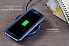 Nillkin Magic Disk II Samsung Galaxy S6 Edge Plus Beyaz Kablosuz Şarj Cihazı - Resim 1