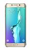 Samsung Galaxy S6 Edge Plus Orjinal Glossy Cover Gold Aynalı Kılıf - Resim 3