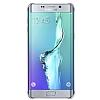 Samsung Galaxy S6 Edge Plus Orjinal Glossy Cover Silver Aynalı Kılıf - Resim 3