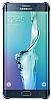 Samsung Galaxy S6 Edge Plus Orjinal Metalik Dark Blue Kenarlı Kristal Kılıf - Resim 4