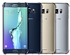 Samsung Galaxy S6 Edge Plus Orjinal Metalik Gold Kenarlı Kristal Kılıf - Resim 2
