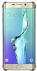 Samsung Galaxy S6 Edge Plus Orjinal Metalik Gold Kenarlı Kristal Kılıf - Resim 4