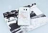 Samsung Galaxy S6 Edge Taşlı Yusufçuk Şeffaf Silikon Kılıf - Resim 2