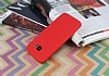 Samsung Galaxy S7 edge 360 Derece Koruma Likit Kırmızı Silikon Kılıf - Resim 2