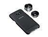 Samsung Galaxy S7 Edge Orjnal Siyah Lens Kılıf - Resim 5