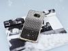 Samsung Galaxy S7 Edge Taşlı Geçişli Siyah Silikon Kılıf - Resim 2