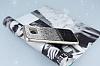 Samsung Galaxy S7 Edge Taşlı Geçişli Siyah Silikon Kılıf - Resim 1