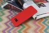 Samsung Galaxy S8 360 Derece Koruma Likit Kırmızı Silikon Kılıf - Resim 2