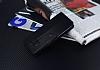Samsung Galaxy S8 Cüzdanlı Yan Kapaklı Siyah Deri Kılıf - Resim 2